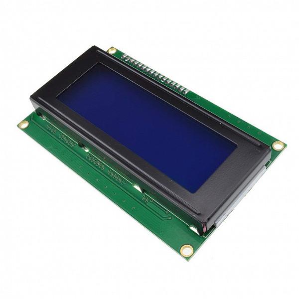 Display LCD (4 Linhas x 16 Colunas) com Backlight Azul