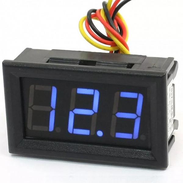 VoltImetro Digital 28 x 48 cm (4,5VDC-30VDC)