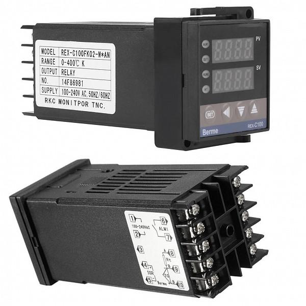 Controlador de Temperatura Termostato Digital REX C100 (48x48mm)
