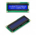 Display LCD (2 Linhas x 16 Colunas) com Backlight Azul com Letra Branca (1602A)