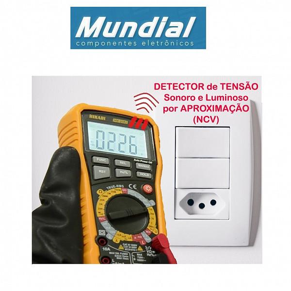 Multímetro Digital HIKARI HM-2082 (True RMS)