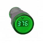 Voltimetro Redondo 20-500V CA - AD22-22VS - 22mm