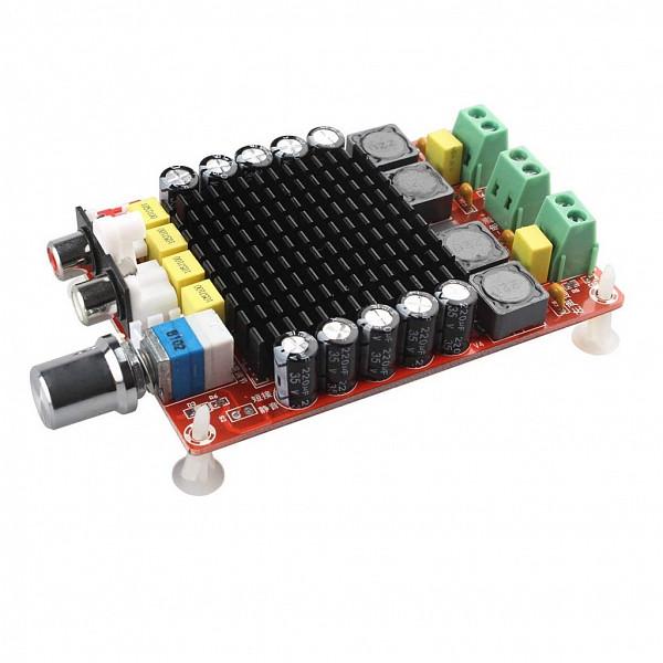 Amplificador de Áudio Classe D com 2 Canais - 14~32V XH-M510 TDA7498 2x100W