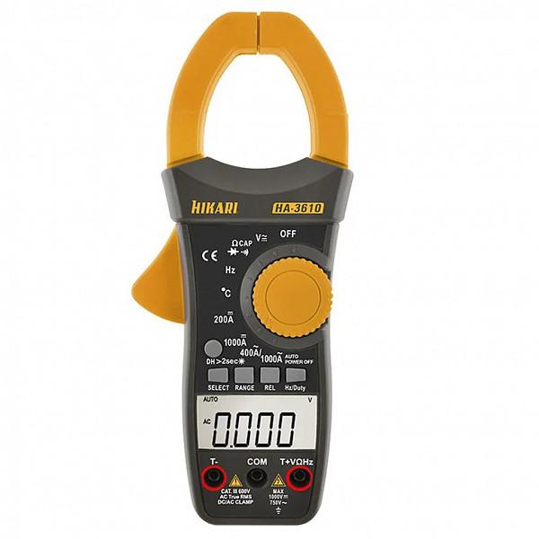 Alicate Amperímetro HIKARI  *Corrente AC e DC*  (HA-3610)